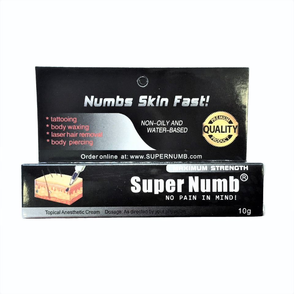Top Numbing Creams for Tattoos, Piercing, Hair Removal & Waxing ...