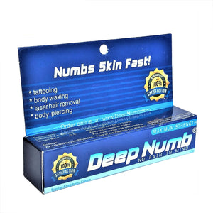 1 Tube x 10g DEEP NUMB® Topical Numbing Cream