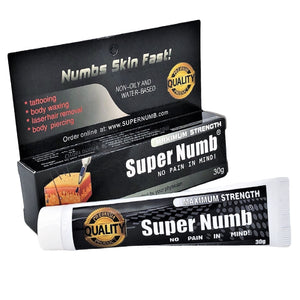 20 Tubes x 30g SUPER NUMB® Topical Numbing Cream