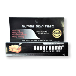 1 Tube x 10g SUPER NUMB® Topical Numbing Cream