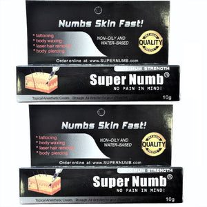 3 Tubes x 10g SUPER NUMB® Topical Numbing Cream