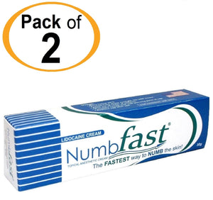 2 Tubes x 30g NUMB FAST® Topical Numbing Cream