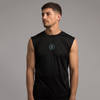 Totum Cut Off Training Tank - Black