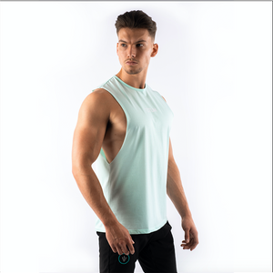 Totum Performance Cut Off Tank - Pastel Aqua