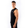 Totum Performance Cut Off Tank - Black