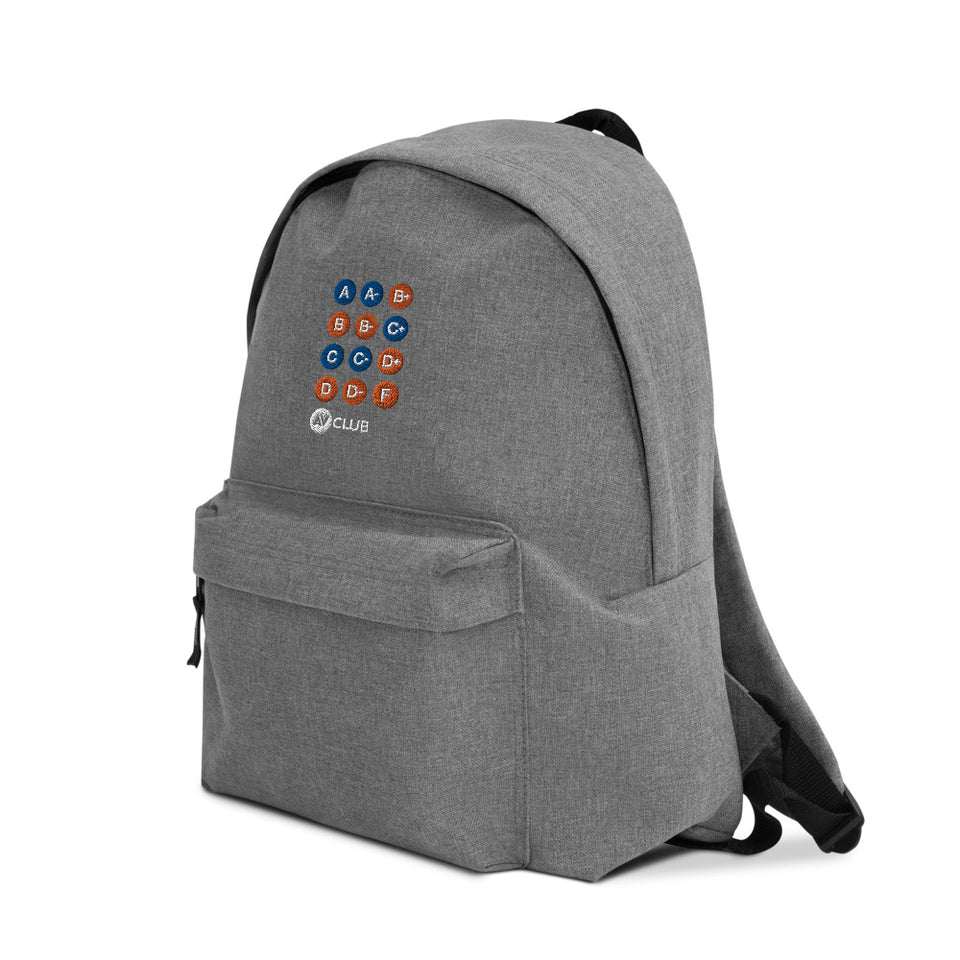 "Metro Line ""Movie Grade"" Embroidered Backpack"