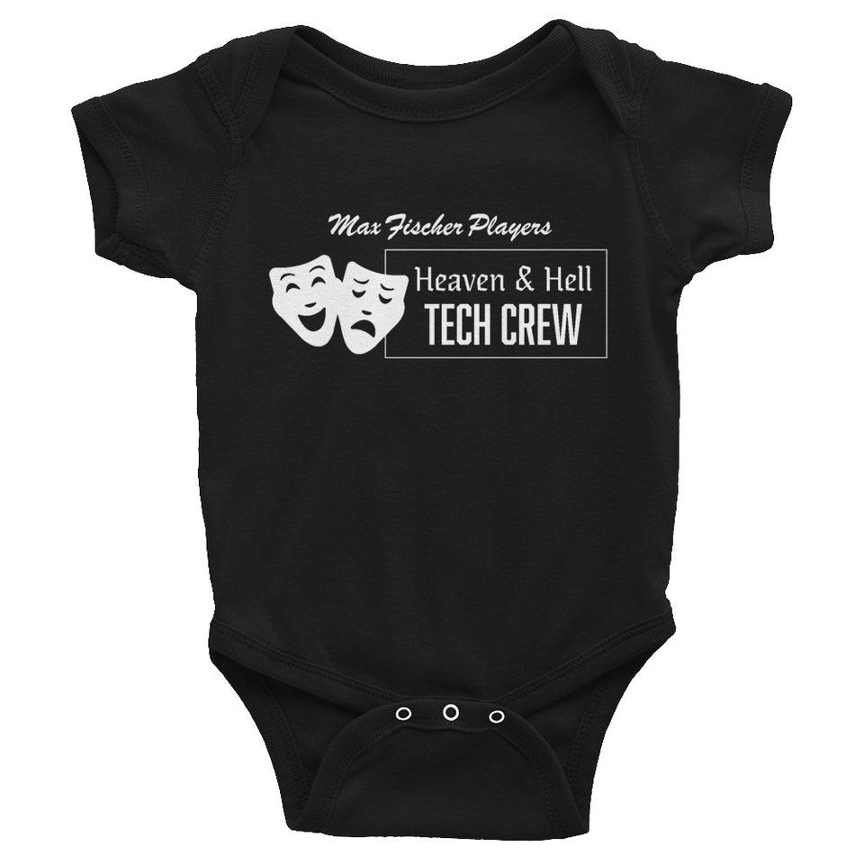 Heaven & Hell Tech Crew Baby Onesie