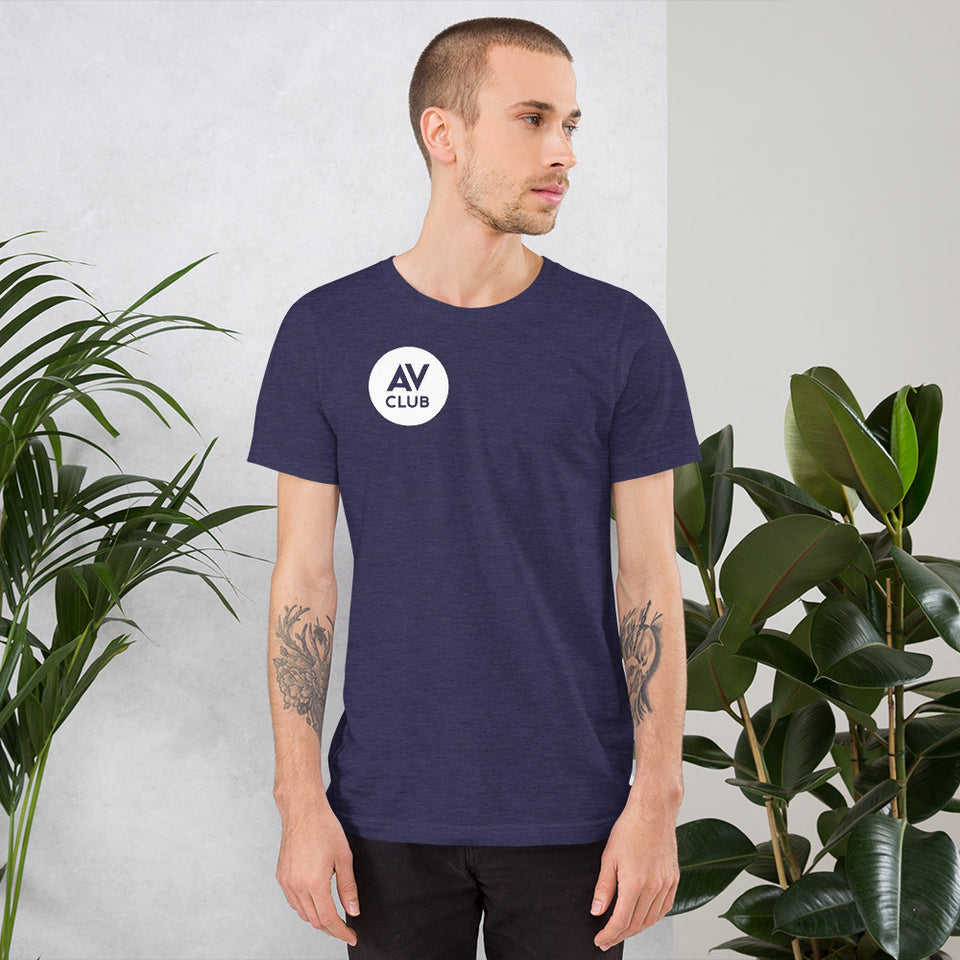 The A.V. Club Circular Logo Unisex T-Shirt
