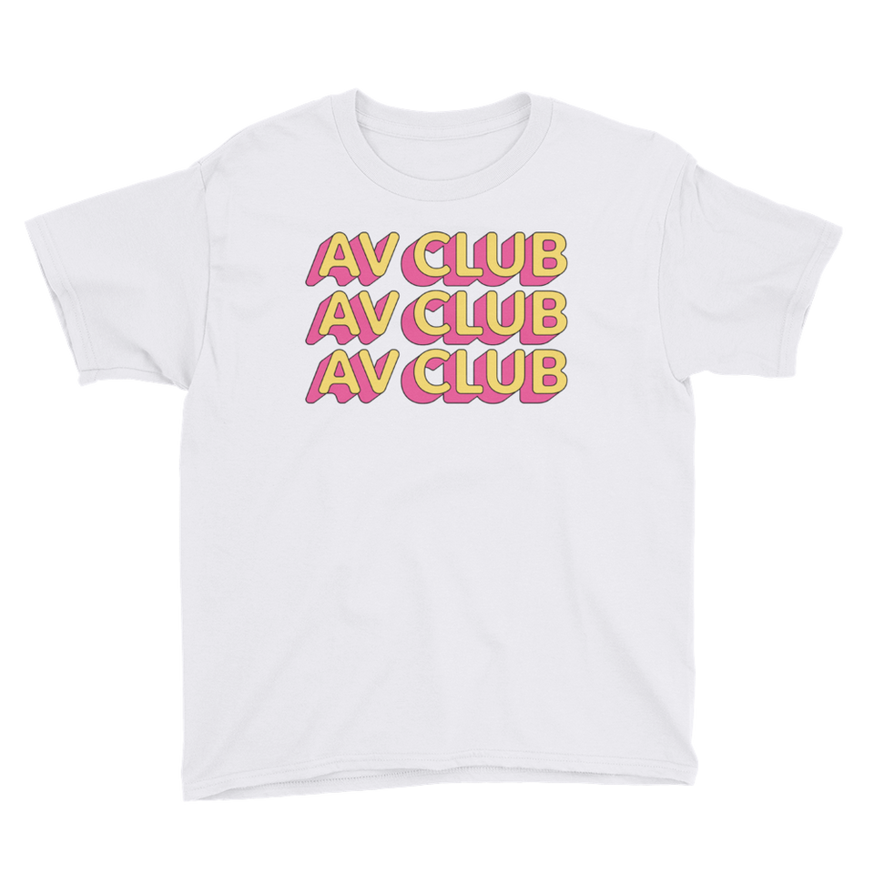 The A.V. Club 'Outlines III' T-Shirt for Kids