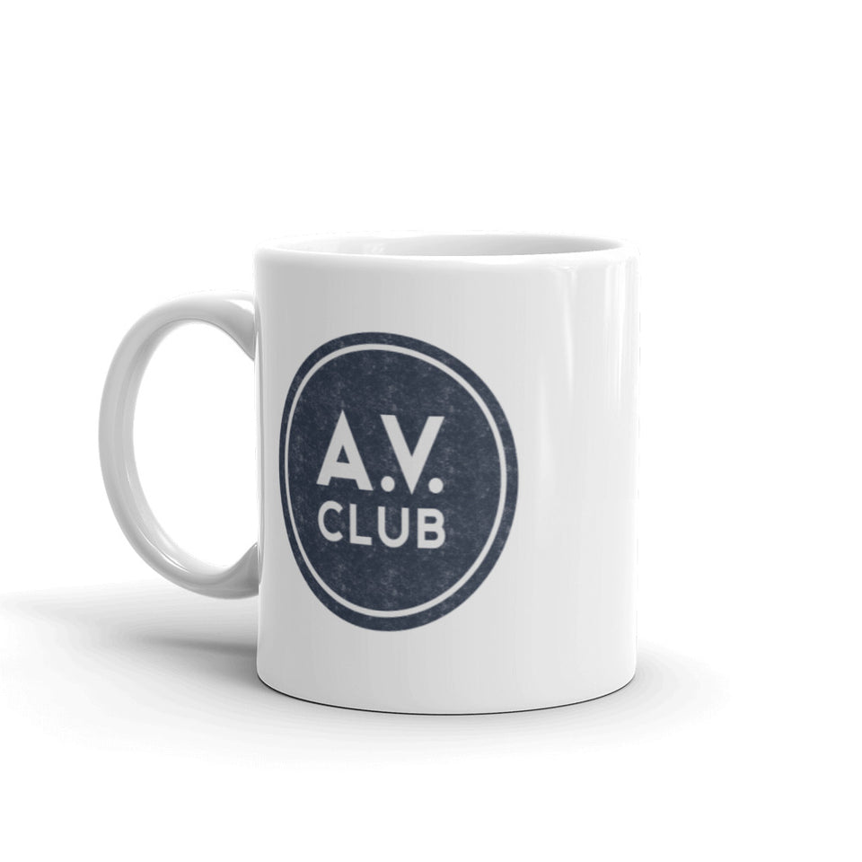 The A.V. Club Vintage Logo Mug