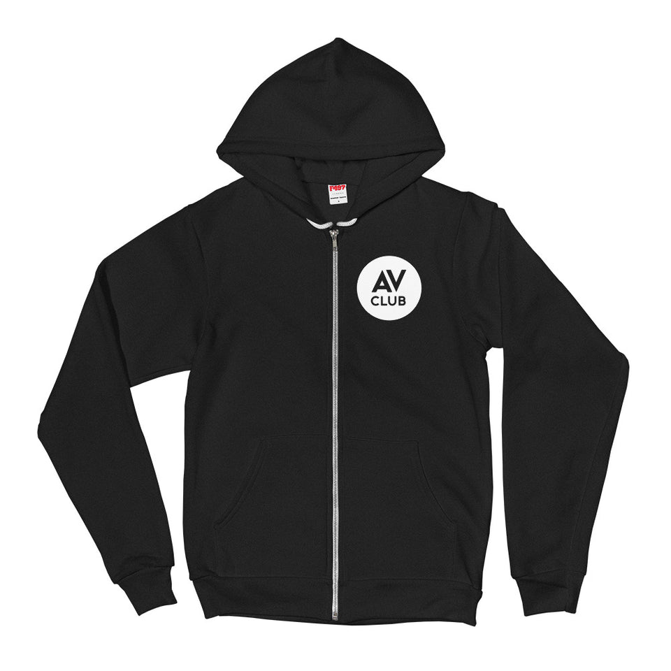 The A.V. Club Logo Zip-Up Hoodie