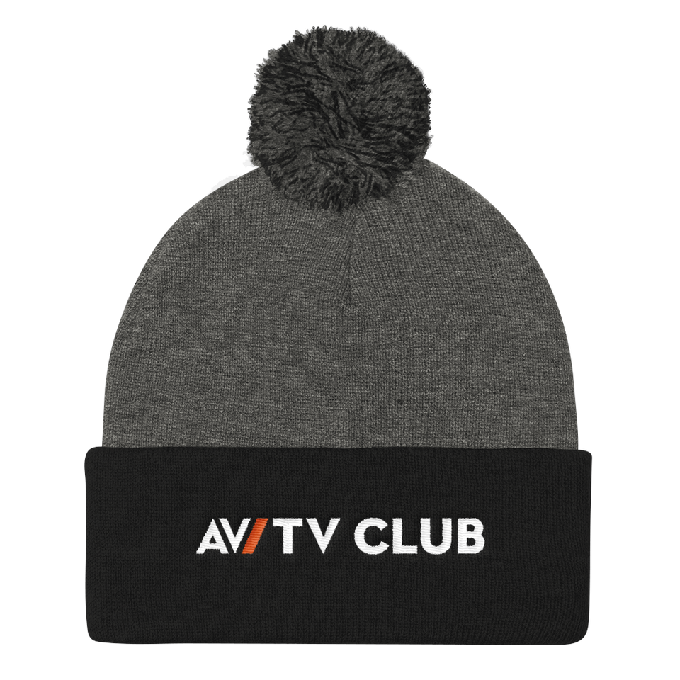 TV Club Pom Pom Knit Cap