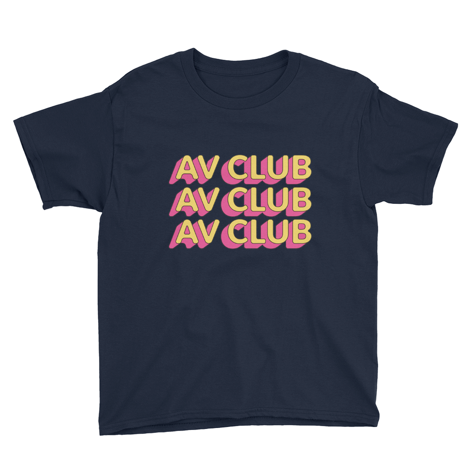 The A.V Club 'Outlines III' T-Shirt for Kids
