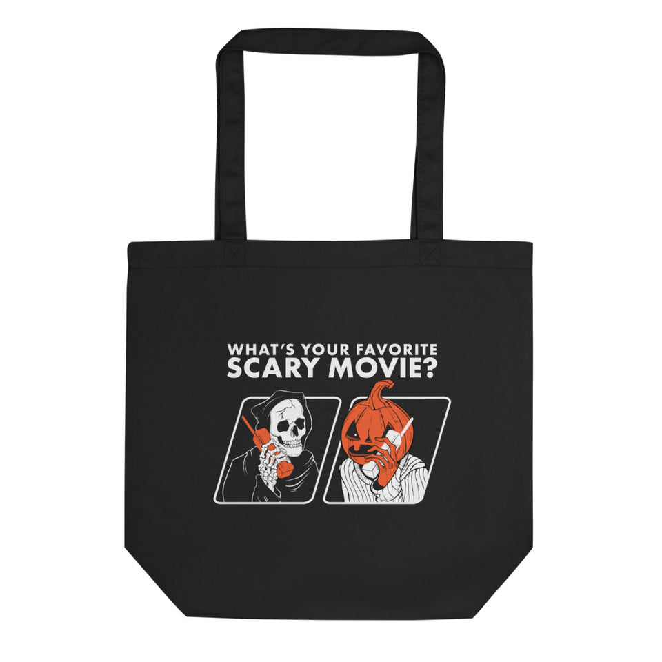 Scary Movie 2-Sided Tote Bag