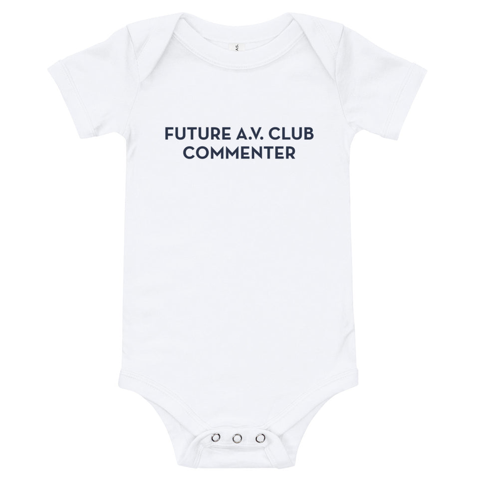 Future A.V. Club Commenter Onesie