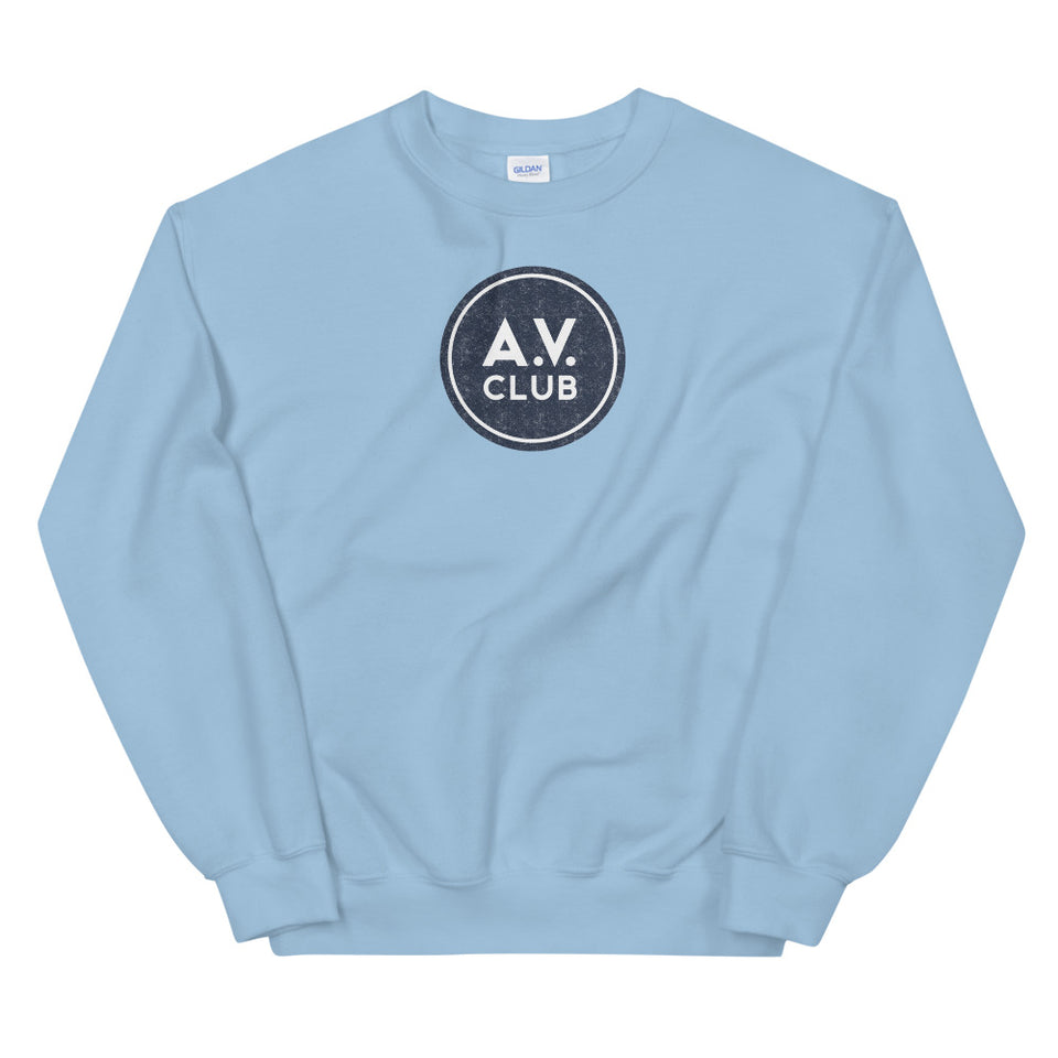 The A.V. Club Vintage Logo Unisex Sweatshirt