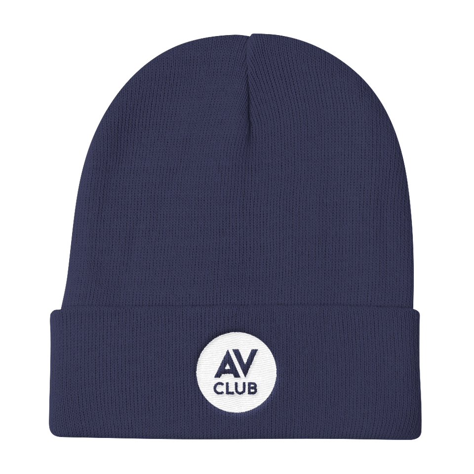 The A.V. Club Logo Knit Beanie