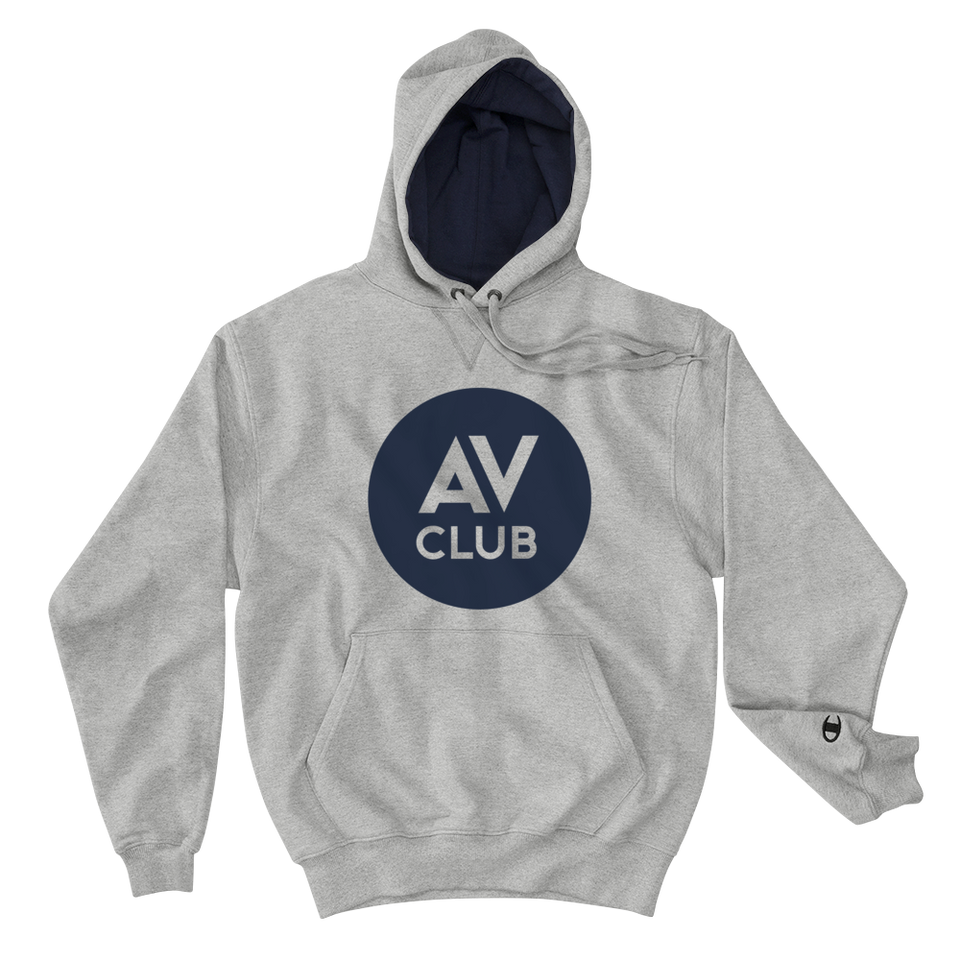 The A.V. Club Logo Premium Hoodie by Champion