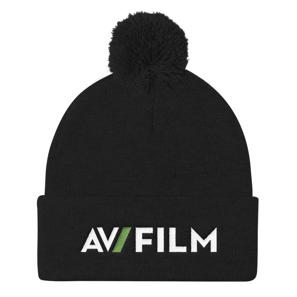 Film Club Pom Pom Knit Cap
