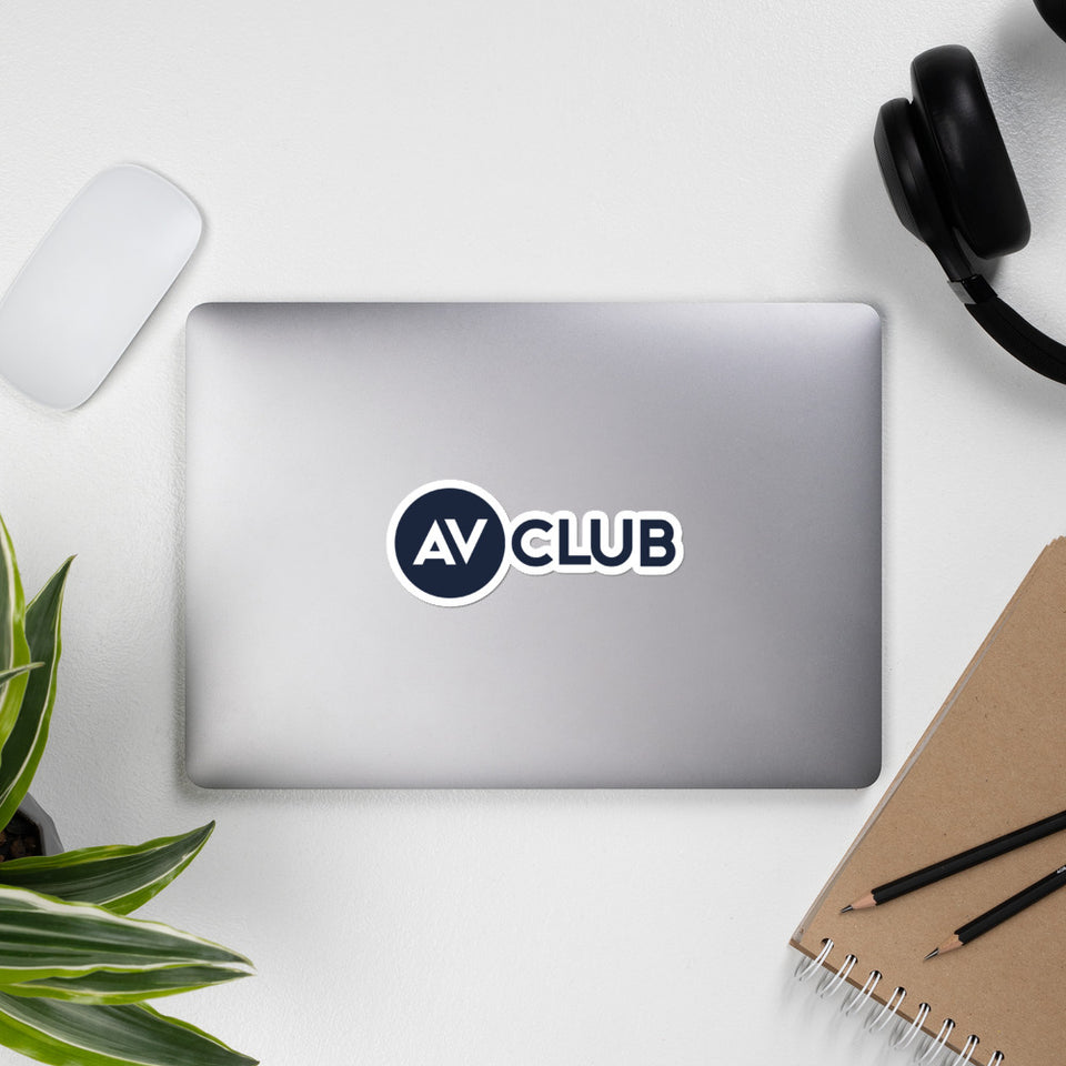 A.V. Club Stickers