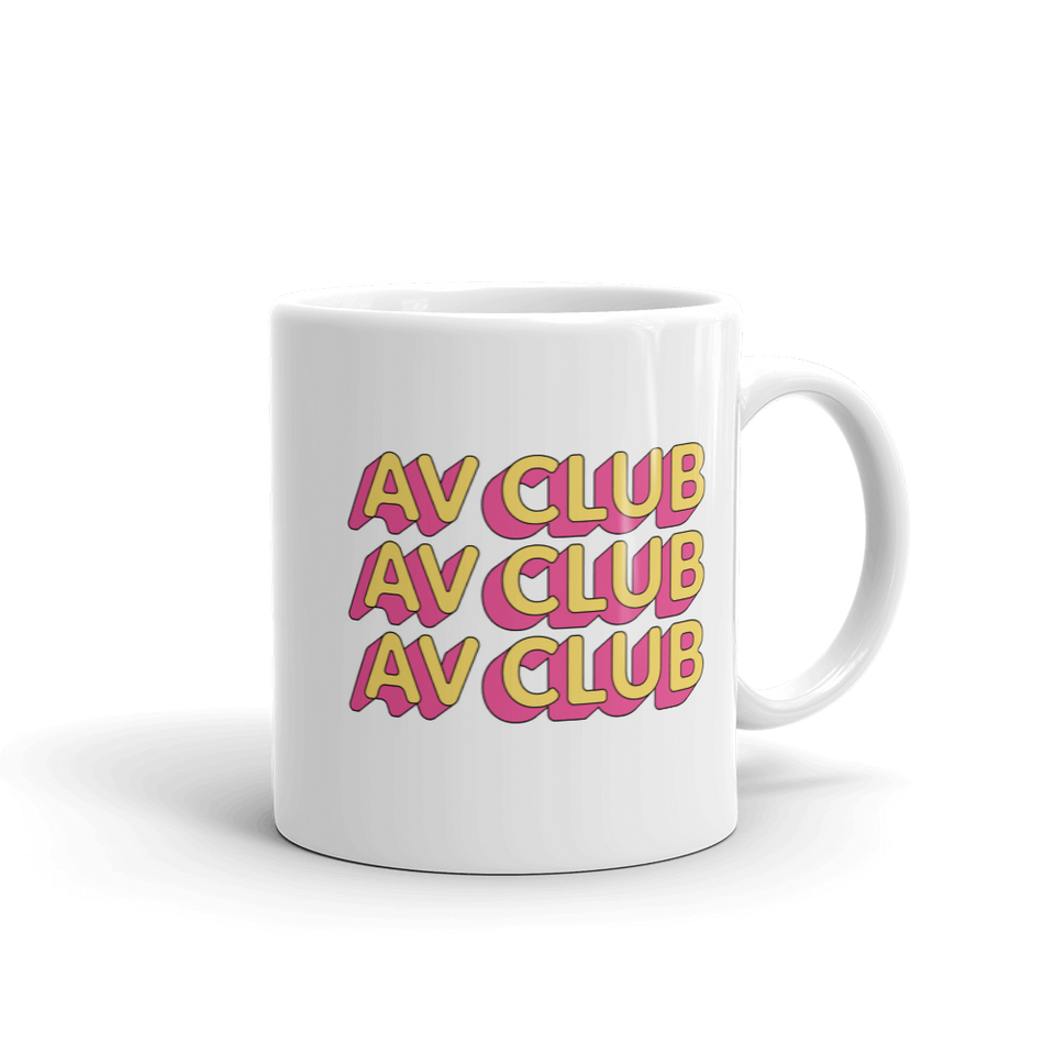 The A.V. Club 'Outlines III' Mug