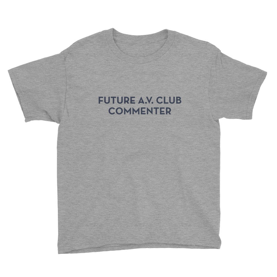 Future A.V. Club Commenter T-Shirt for Kids