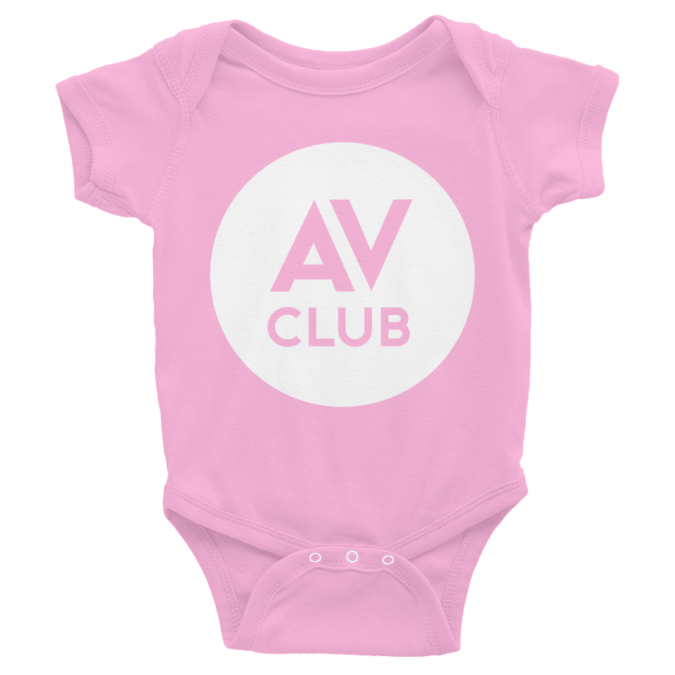 The A.V. Club Logo Baby Onesie