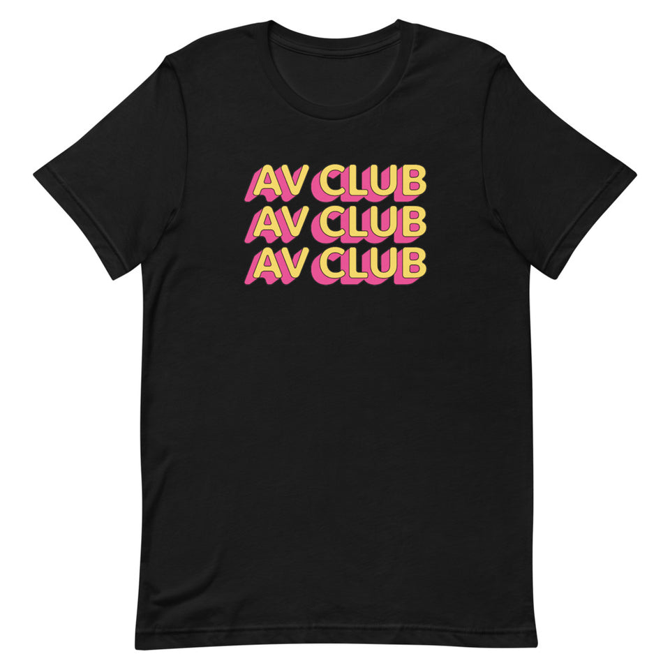 The A.V Club 'Outlines III' T-Shirt