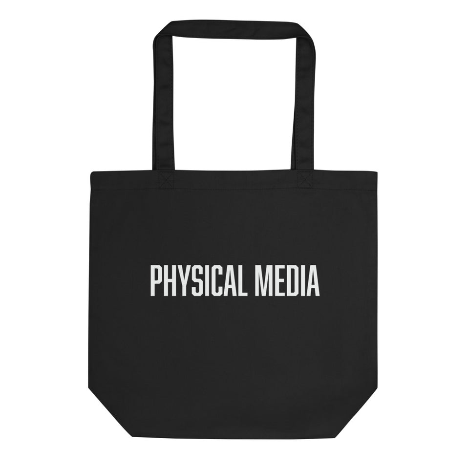 Physical Media Double-Sided Tote Bag