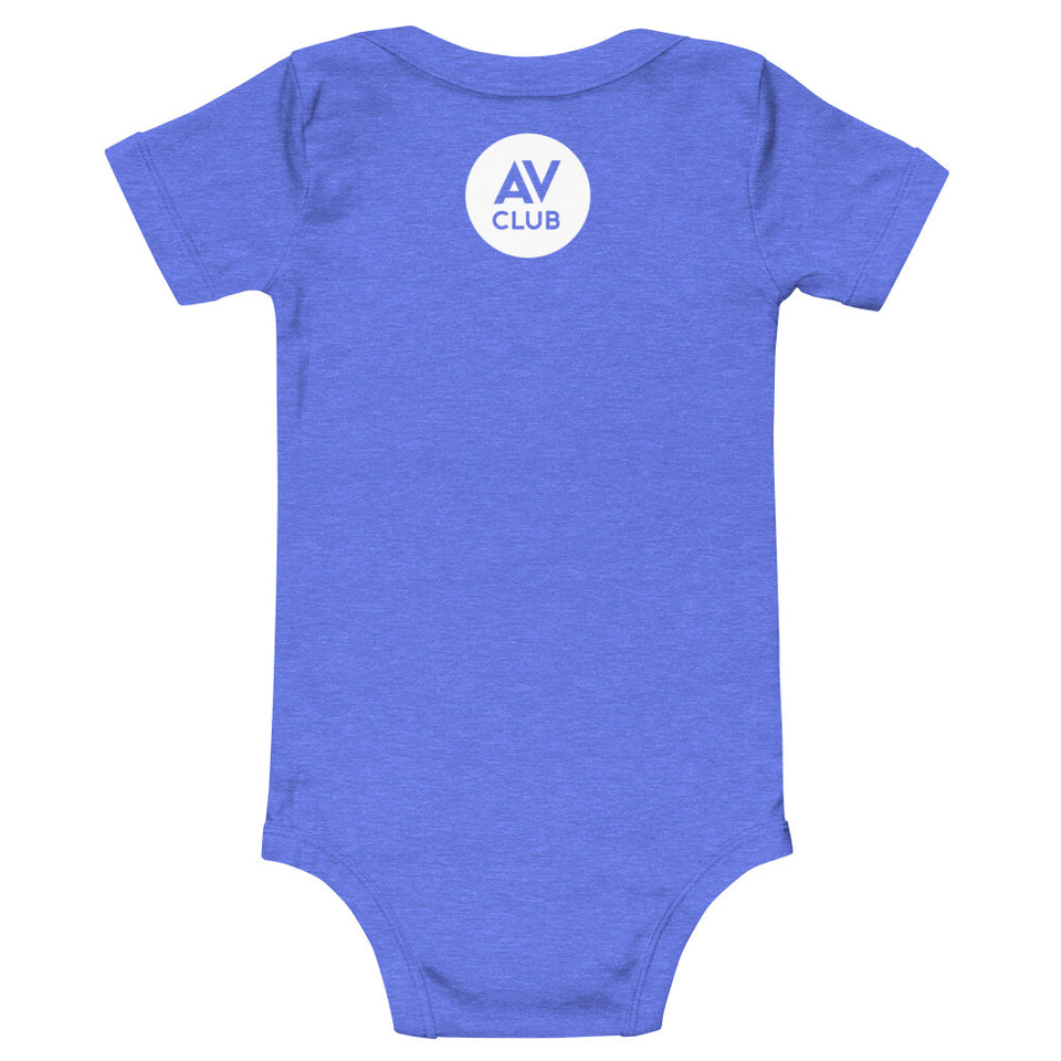 Team Big Impact Baby Onesie