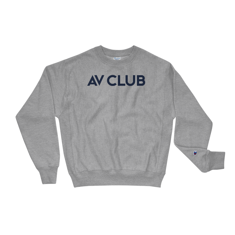 The A.V. Club Premium Crewneck Sweatshirt by Champion