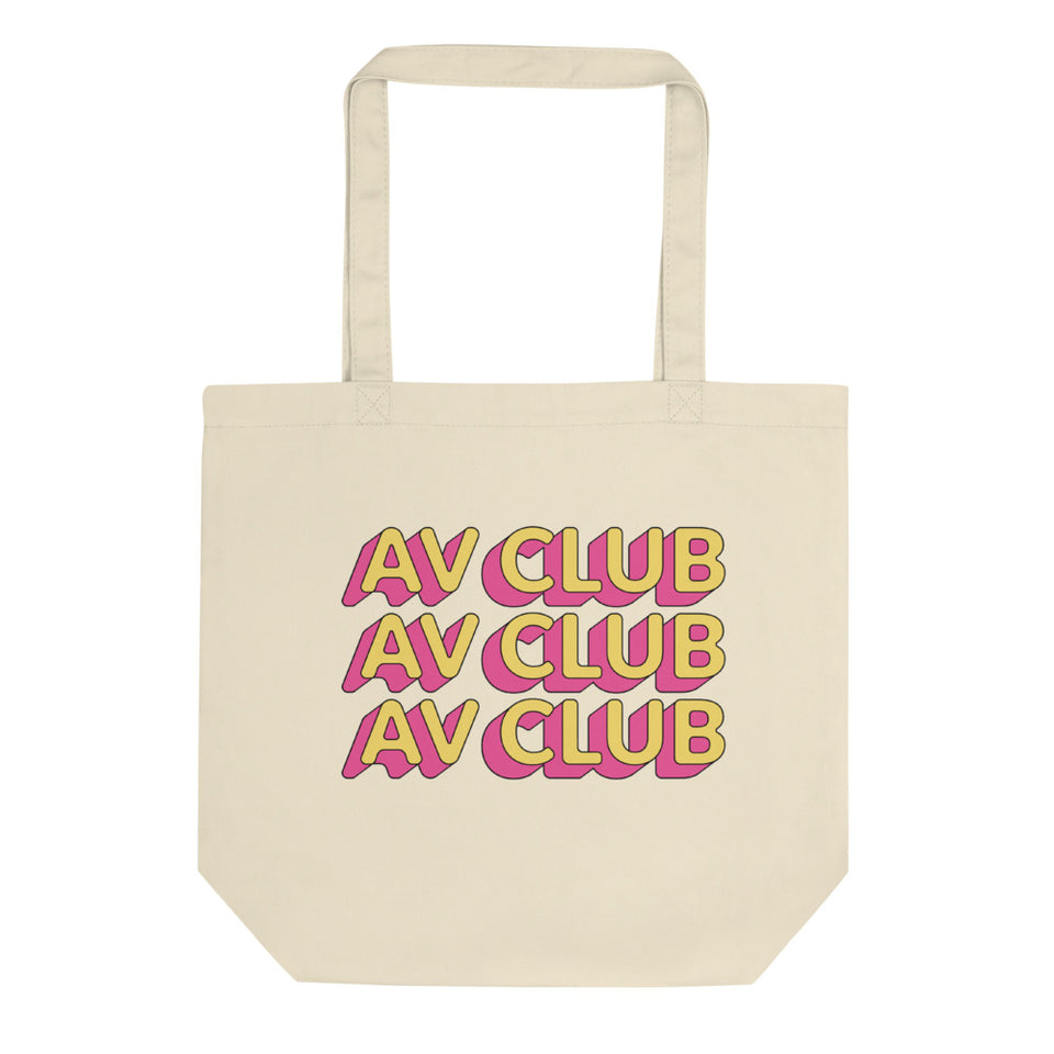 The A.V. Club 'Outlines III' Tote Bag