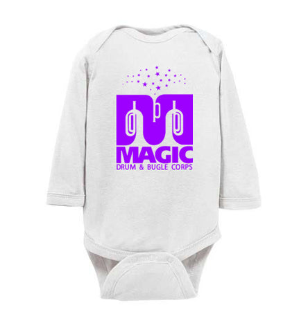 Infant Long Sleeve Bodysuit (multiple colors)