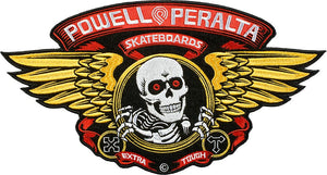 Parche Powell Peralta Winged Rip Large 12