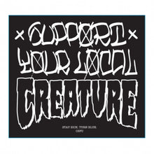 Sticker Creature 10 pzs. Clear Mylar