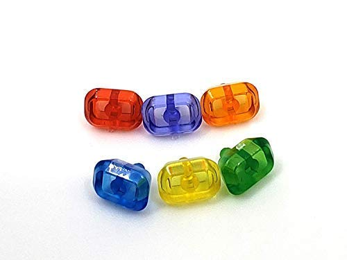 Lego size - Infinity Stones Gems - All 6 for Infinity Gauntlet - BlingBlingBrick