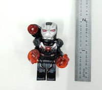 War Machine Minifigure Heavy Armor with LED Light Up Thrusters  – (Lego 76124) - BlingBlingBrick