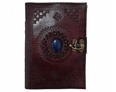 Leather Handmade refillable notebook