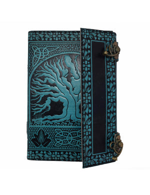Genuine Handmade Refillable Leather Journal with Two Locks [PACK OF 2] - thar-artefacts