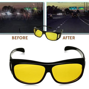 HD Night Vision - Driving Glasses Set of 2