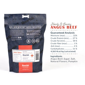 Angus Beef Dog Treats - 1 lbs