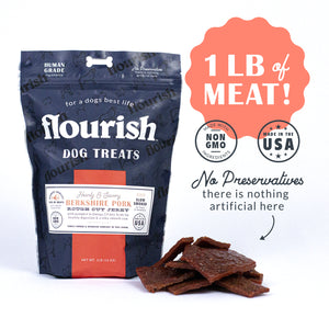 Berkshire Pork Dog Treats - 1 lbs