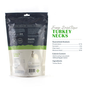Freeze Dried Turkey Necks - 3 Count