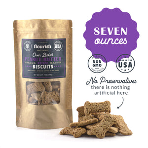 Peanut Butter Biscuits - 7oz