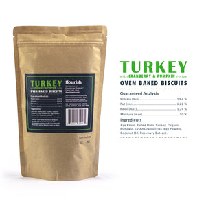 Turkey with Cranberry & Pumpkin Treats - 7oz
