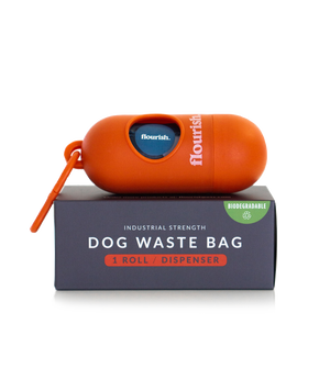 Dog Waste Bag Dispenser + 1 Roll