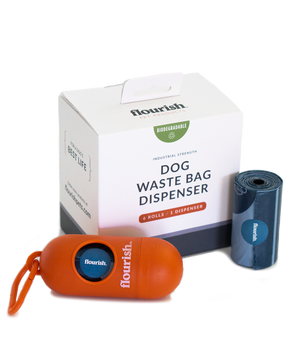 30% Off - Dog Waste Bag Dispenser + 6 Rolls