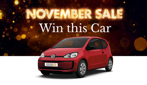 COMPETITION CLOSED. Win a Car Competition November 2018 - Terms & Conditions