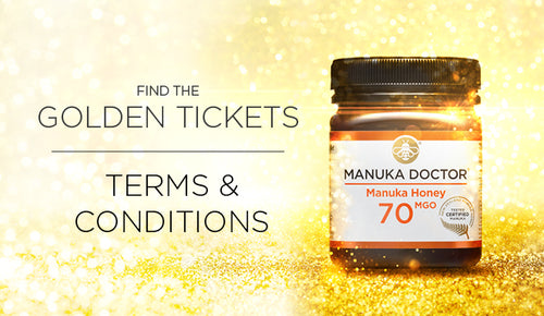 Manuka Doctor 'Golden Ticket' Promotion May 2019: Terms & Conditions