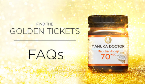 Manuka Doctor 'Golden Ticket' Promotion May 2019: FAQs